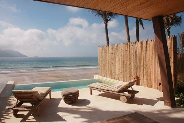 Terrace Six Senses Con Dao resort