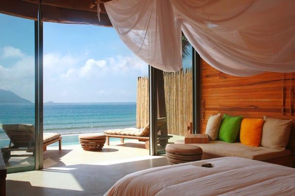 Living room Six Senses Con Dao resort