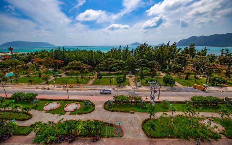 Top view Con Son Bluesea Hotel