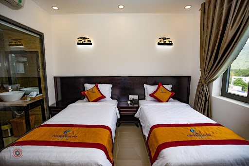 Twin room Con Son Bluesea Hotel